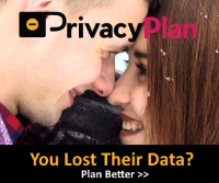 PrivacyPlan Ad: Couple| You Lost Their Data?