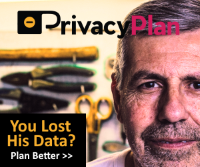 PrivacyPlan Ad: Man | You Lost His Data?