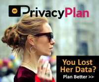 PrivacyPlan Ad: Woman| You Lost Her Data?