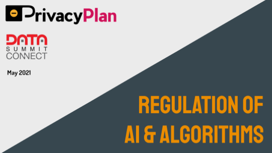 Regulation of AI - Data Summit Connect